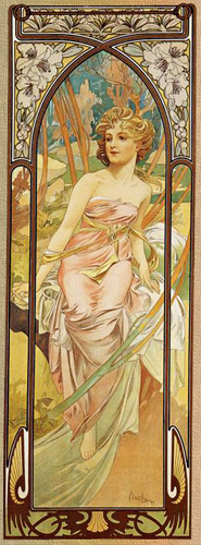 Alphonse Mucha - Morning