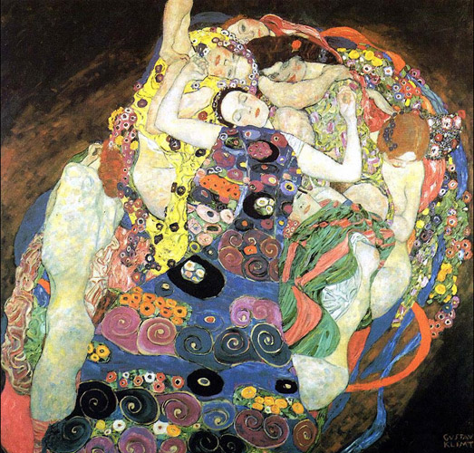 gustav klimt virgin