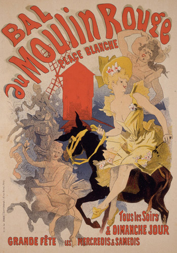 cheret bal au moulin rouge