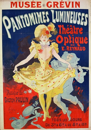 cheret pantomimes lumineuses