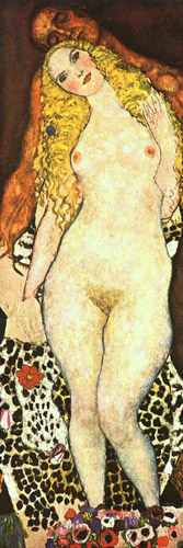klimt gustav adam and eve