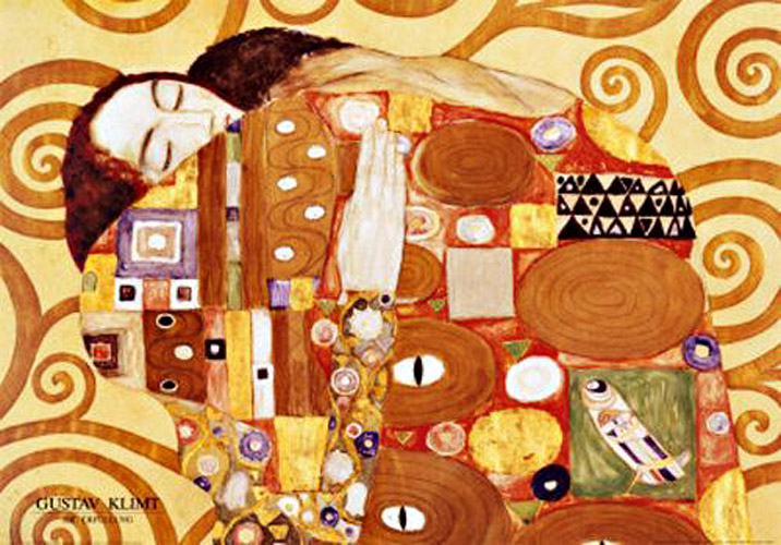 klimt gustav fulfillment stoclet frieze