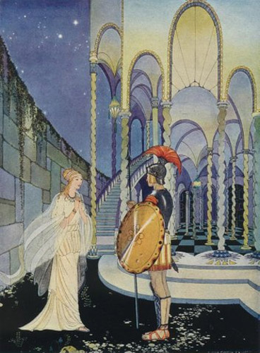 virginia frances sterrett ariadne theseus