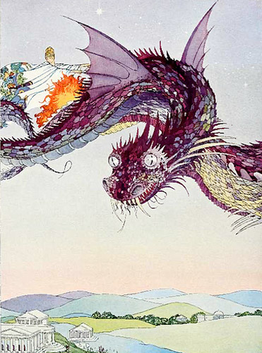 virginia frances sterrett medea dragon snakes